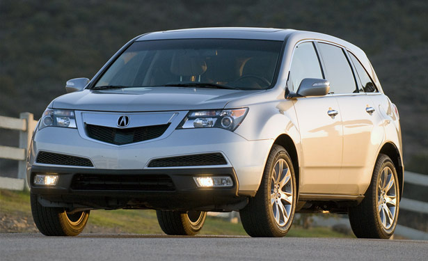 2010 Acura MDX copyright ©2010 Michael Harley / AOL