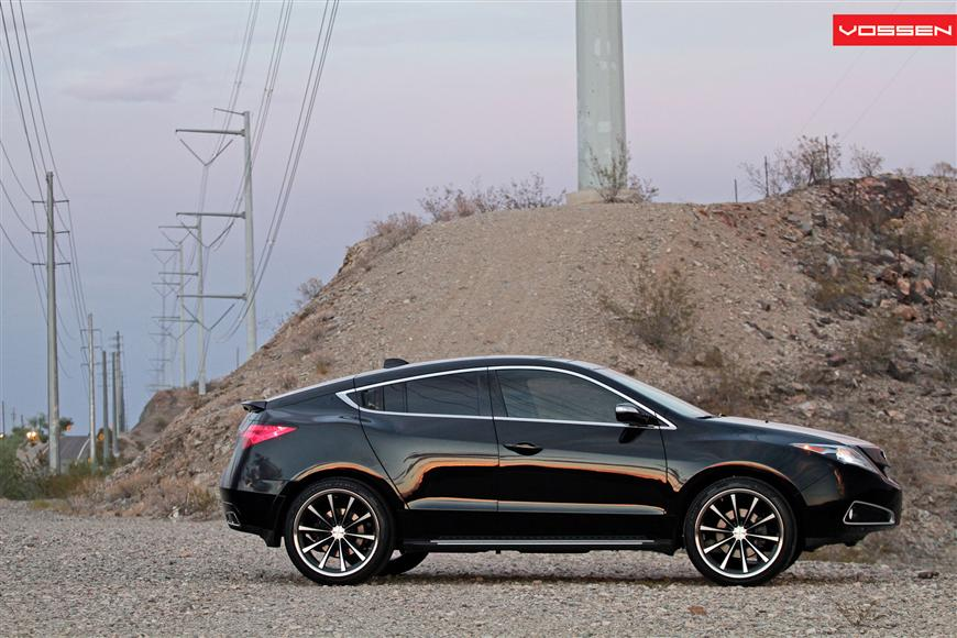 Vossen Wheels Acura ZDX Photo Gallery Acura Connected - Acura zdx rims