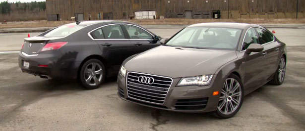 Audi A7 vs. Acura TL Rematch