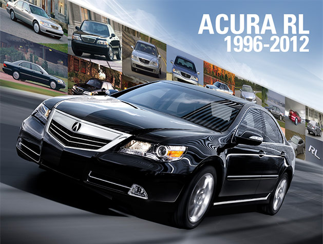 17 Years of Acura RL