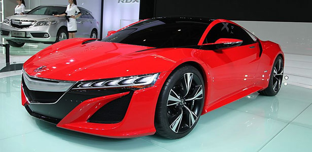 Red Acura NSX Concept
