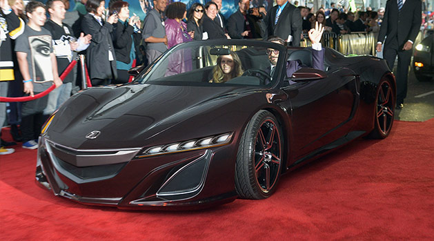 Avengers NSX Roadster with Headlights