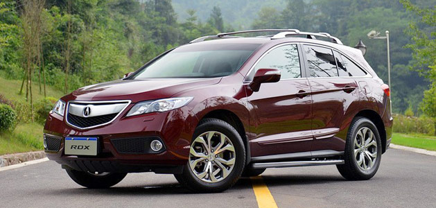 Acura China's 2013 RDX - Basque Red Pearl