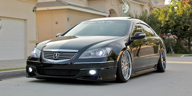 Ambiguouss Acura RL Acura Connected - Acura rl coilovers