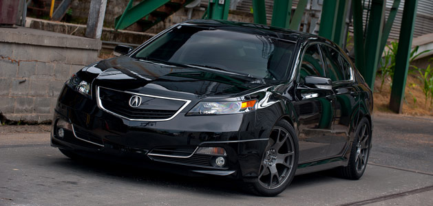 Oscar's Crystal Black Pearl 2012 Acura TL – Acura Connected