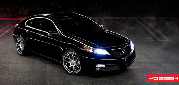 Acura TL on Vossen VVSCV2