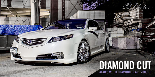 Alans White Diamond Pearl Acura TL Acura Connected - Acura tl aftermarket headlights