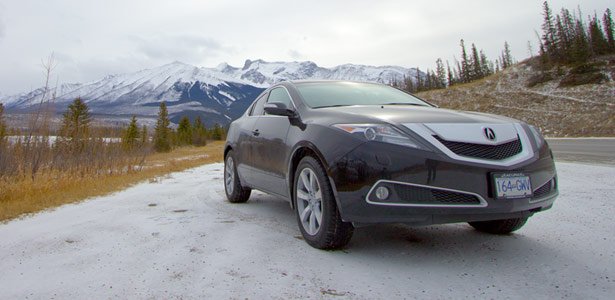 2012 Acura ZDX Jasper National Park