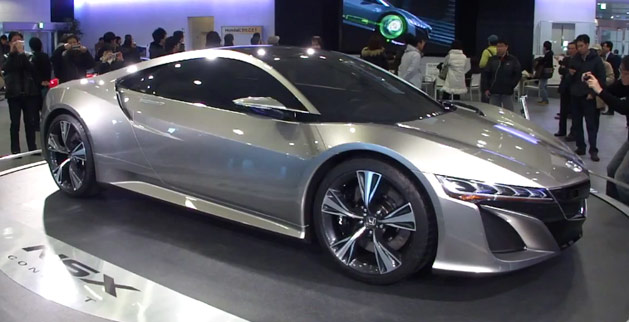 Honda NSX Concept Makes its Debut in Japan – Acura Connected