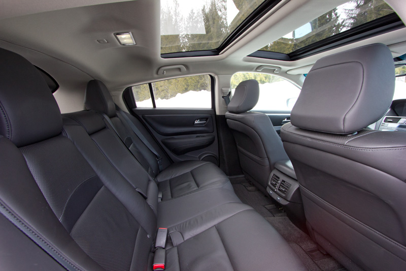 Good The 2012 Acura ZDX Interior Nice Look