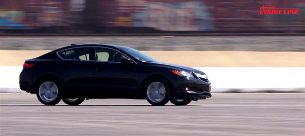 2013 Acura ILX Track Test Video