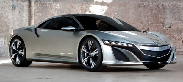 Acura NSX Concept - Courtesy Road & Track