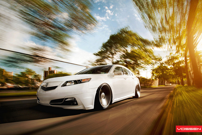 Andy's 2009 Acura TL – Courtesy Vossen Wheels – Acura Connected