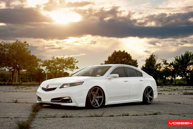 Andy S White Diamond Pearl 2009 Acura Tl Acura Connected