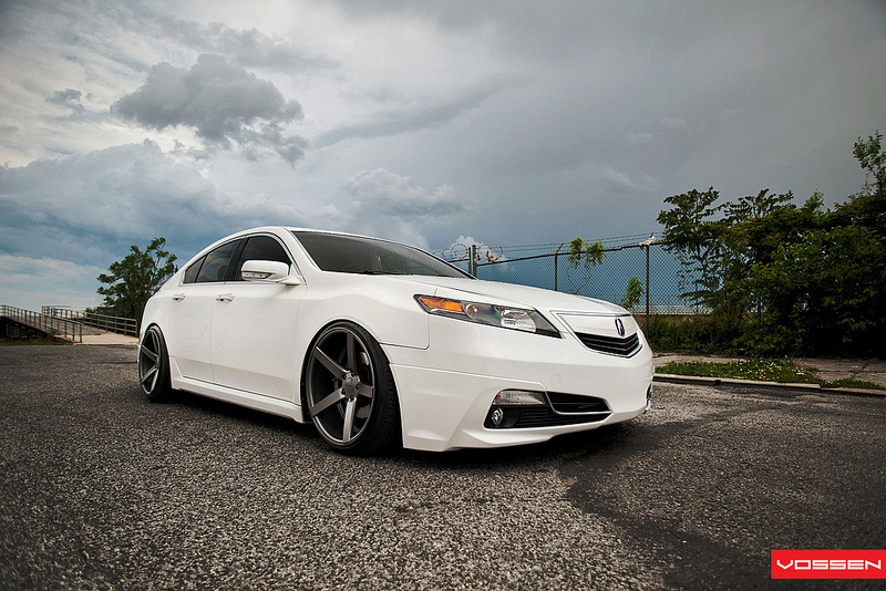 andy s 2009 acura tl courtesy vossen wheels acura. Black Bedroom Furniture Sets. Home Design Ideas
