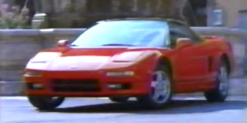 1991 Acura Commercial - An NSX in Italy