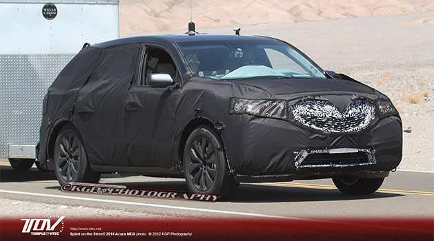 2014 Acura MDX Spied in California