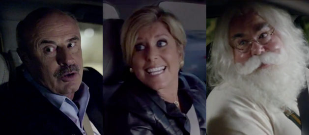 Dr. Phil, Suze Orman, Santa - Acura's Season of Reason