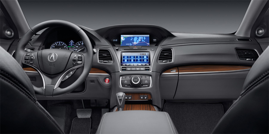 2014 acura rlx interior acura connected. Black Bedroom Furniture Sets. Home Design Ideas