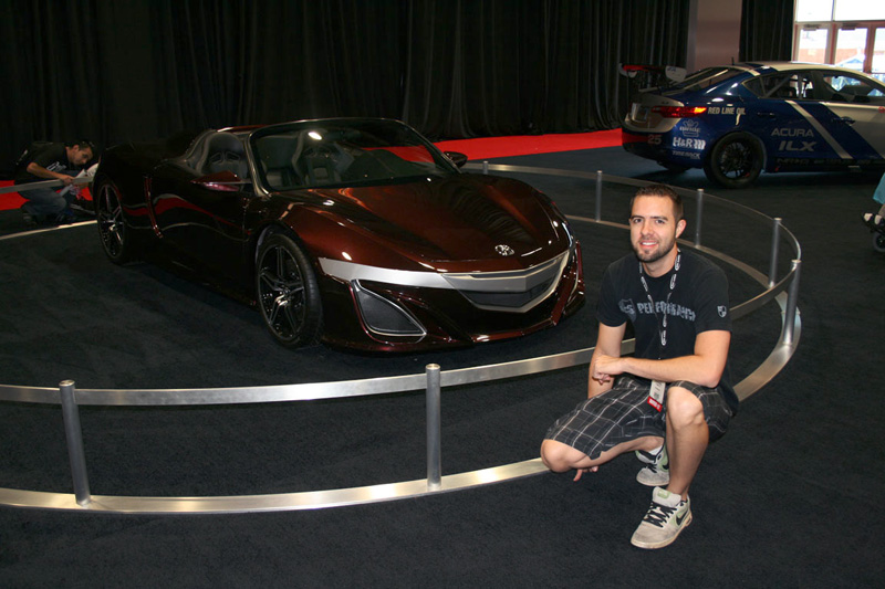 Acura Avengers NSX Roadster – SEMA 2012 – Acura Connected