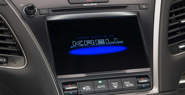 2014 Acura RLX with Krell Industries Audio Systems