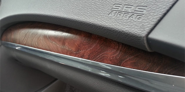 2014 Acura MDX Genuine Olive Ash Wood Trim