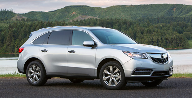 Active Lifestyle Vehicle of the Year: Luxury Family – 2014 Acura MDX