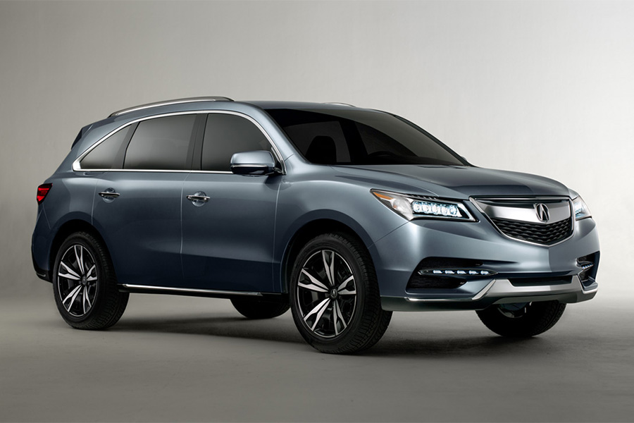 2014 acura mdx prototype makes world debut at naias acura connected. Black Bedroom Furniture Sets. Home Design Ideas