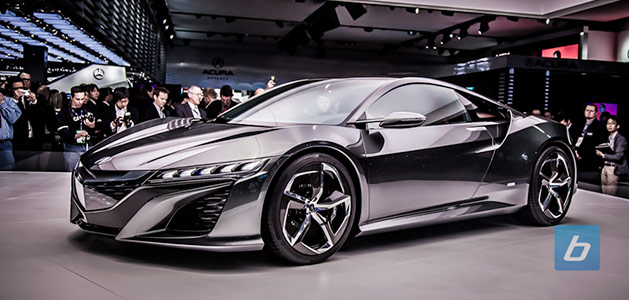 Next Evolution Acura NSX Concept