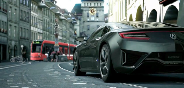 Next Evolution Acura NSX Concept Video