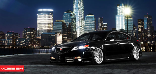 4G Acura TL on Vossen VVSCV4 Wheels