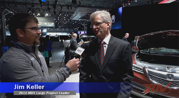 2014 Acura MDX Chief Engineer Jim Keller