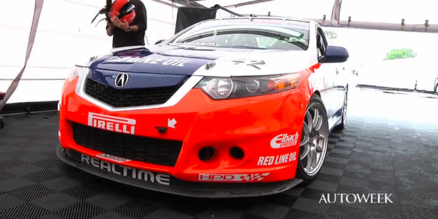 Realtime Racing's GTS Class Acura TSX