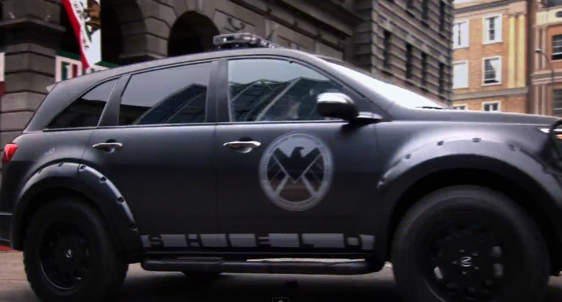 Acura In Marvel S Agents Of S H I E L D Acura Connected