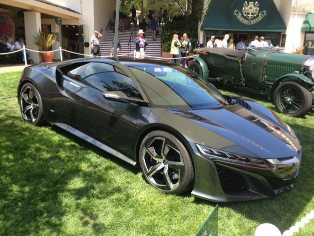 Acura NSX Concept At Pebble Beach Concours d'Elegance