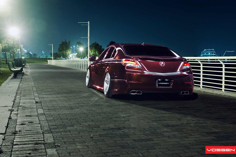 Gallery: Acura TL on Vossen VVSCV5 Wheels – Acura Connected
