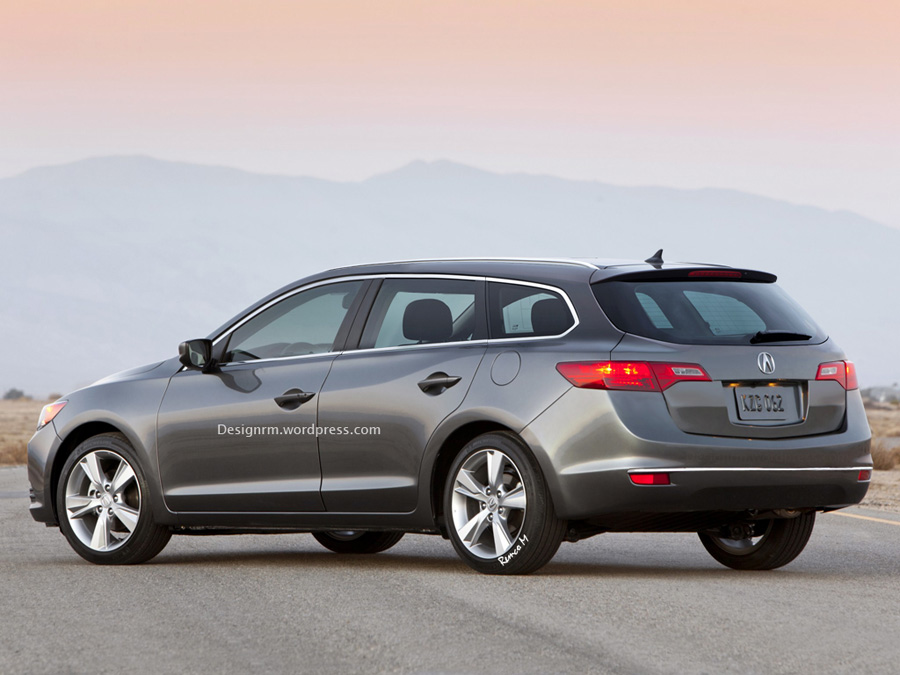 Click here for a high resolution image. & Rendered: Acura ILX Five-Door u2013 Acura Connected