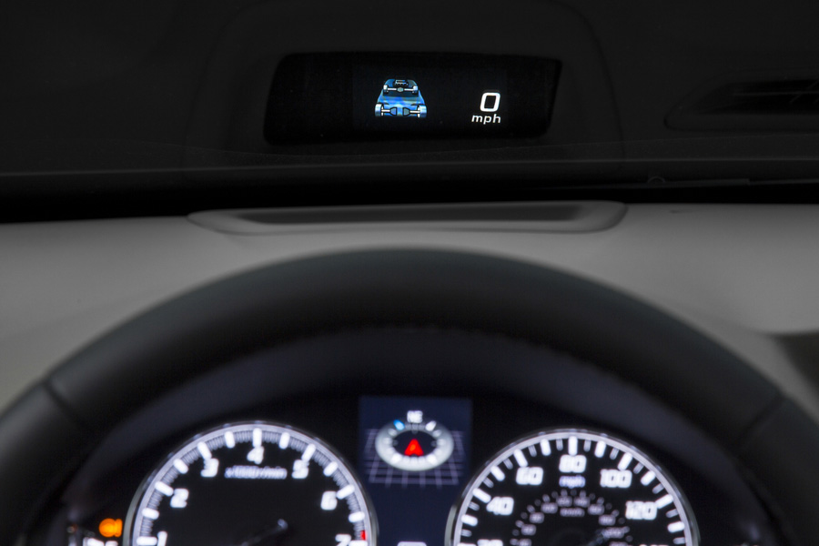 2014 Acura RLX Sport Hybrid SH-AWD – Acura Head-Up Display ...