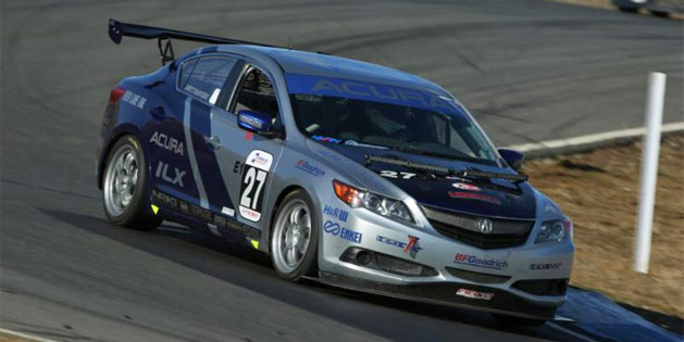 Team Honda Research West Takes Acura ILX