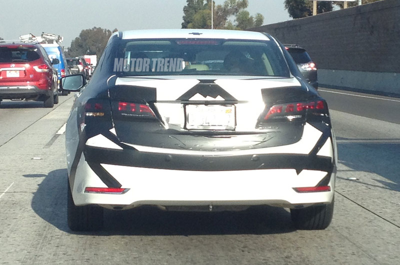 Motor Trend 2017 Acura Tlx Caught Testing