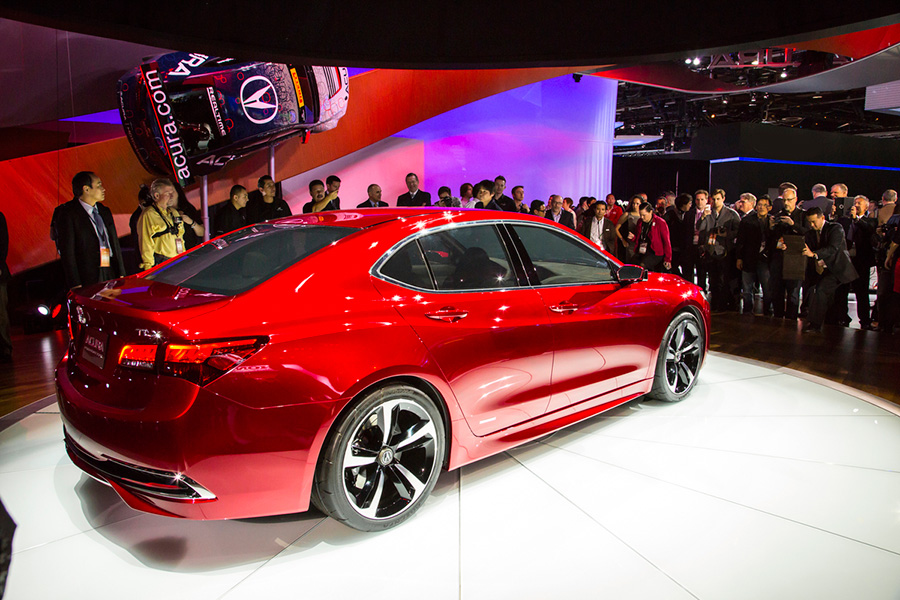 Gallery: Acura TLX Unveiled at NAIAS 2014 – Acura Connected