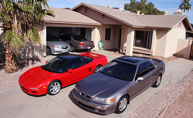 Tyson Hugie's Acura Collection