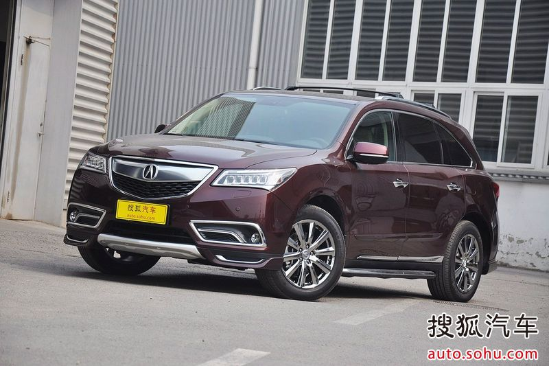 Gallery Acura Chinas MDX With Accessories Acura Connected - Acura mdx accessories