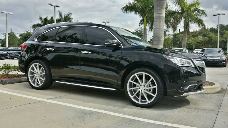 Post Pics Of 2014 Mdx With 20 Inch Wheel Setup Acura Mdx
