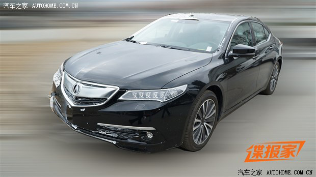2015 Acura TLX Spy Shots from China | Acura Connected