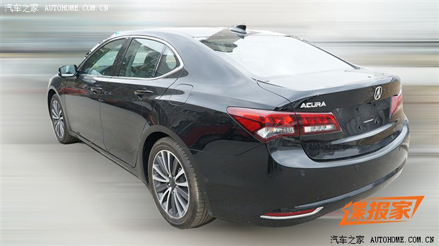 2015 Acura TLX Spy Shots from China – Acura Connected