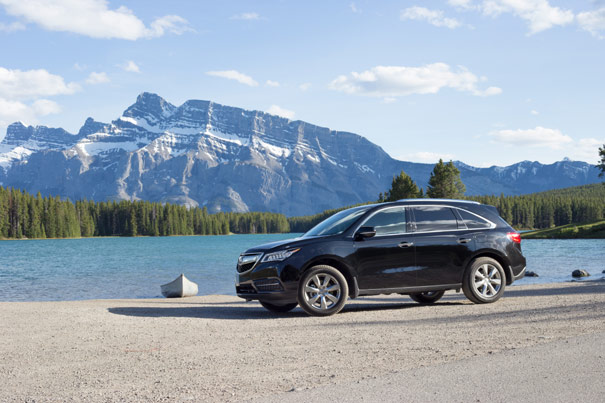 2014 Acura MDX - Two Jack Lake, Banff National Park