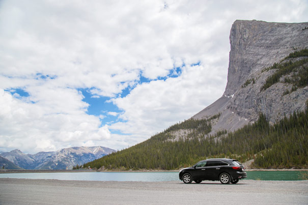 2014 Acura MDX - Whitemans Pond, Kananaskis