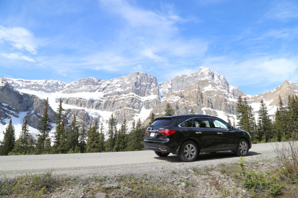2014 Acura MDX - Icefields Parkway, Alberta, Canada