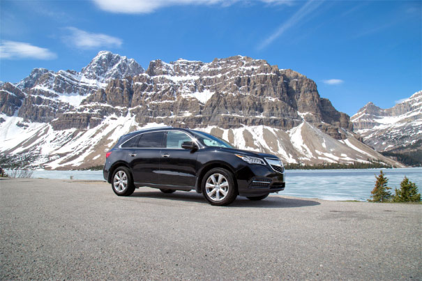 2014 Acura MDX - Bow Lake, Icefields Parkway, Alberta, Canada